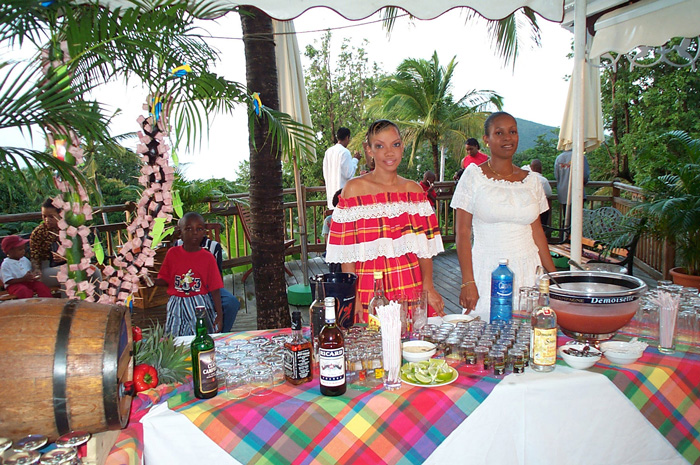 Restaurants deshaies guadeloupe for Restaurant jardin botanique