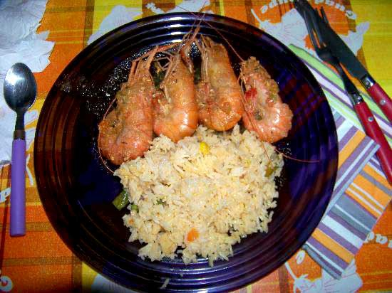 Restaurants guadeloupe sainte anne for Cuisine ouverte guadeloupe
